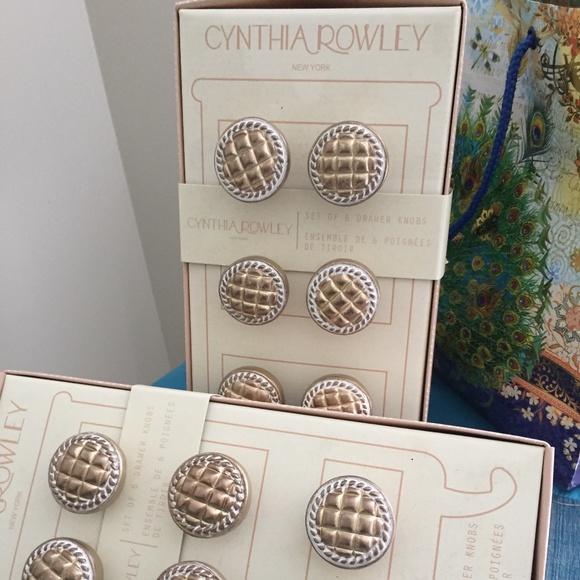 Cynthia Rowley knobs for dresser (12)